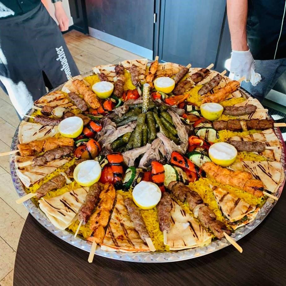 Emsdetten Restaurant Byblos - Grillplatte